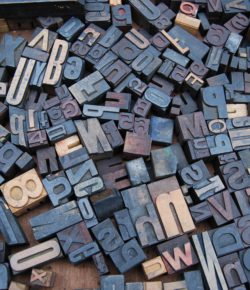 Lettertypes – fonts in use