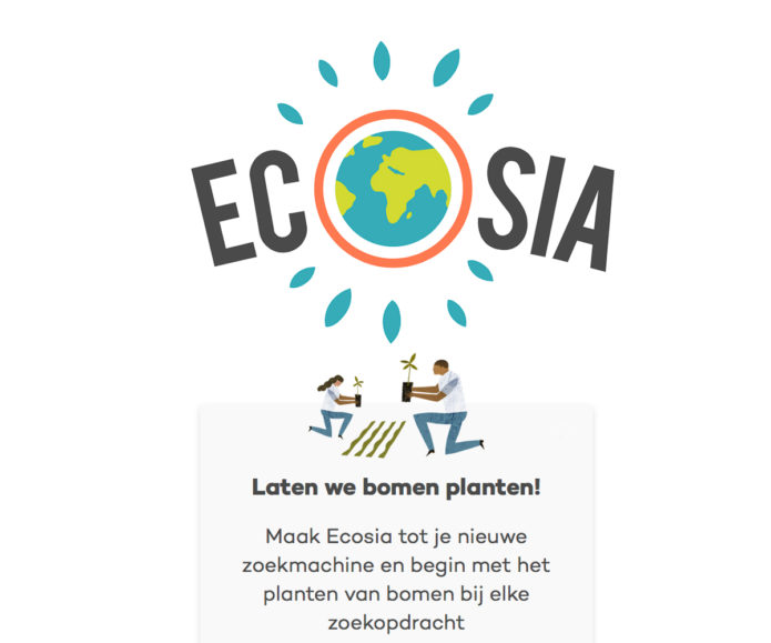 ecosia groene browser